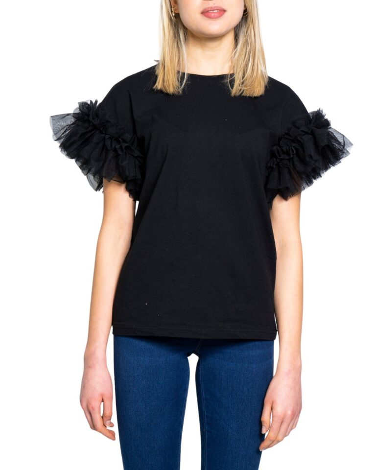 T-shirt Only ANI Nero - Foto 5