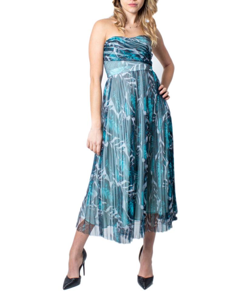 Vestito midi Guess MONICA DRESS Verde - Foto 5