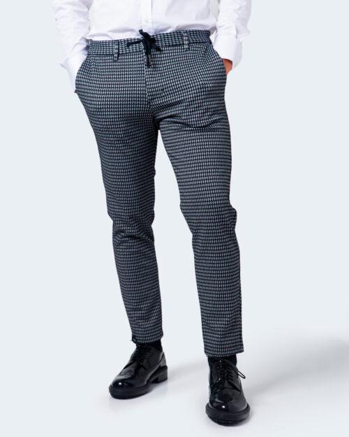 Pantaloni da completo Imperial STAMPA PIED DE POULE Nero – 61225