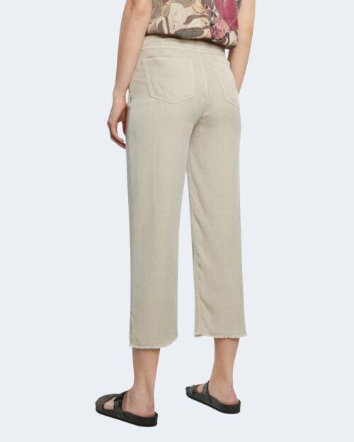 Pantaloni a palazzo Desigual RITA Beige - Foto 2