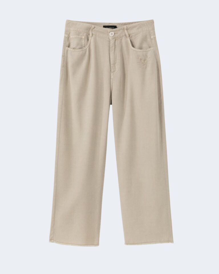 Pantaloni a palazzo Desigual RITA Beige - Foto 4