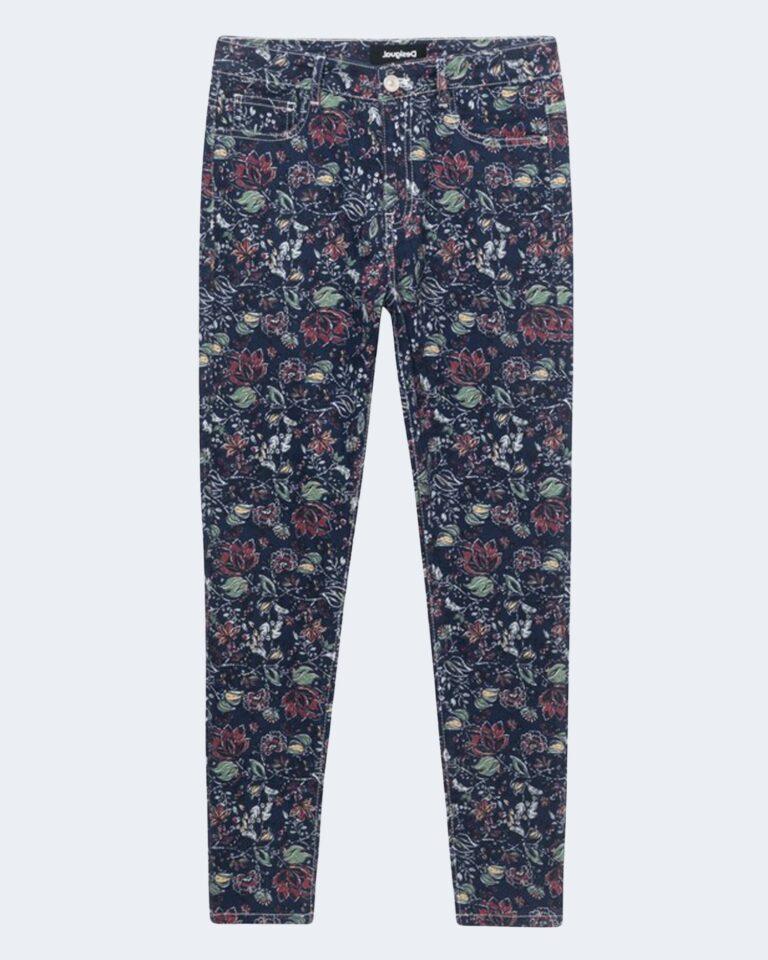 Pantaloni a palazzo Desigual SAM Blu - Foto 2