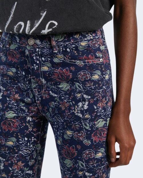 Pantaloni a palazzo Desigual SAM Blu - Foto 4