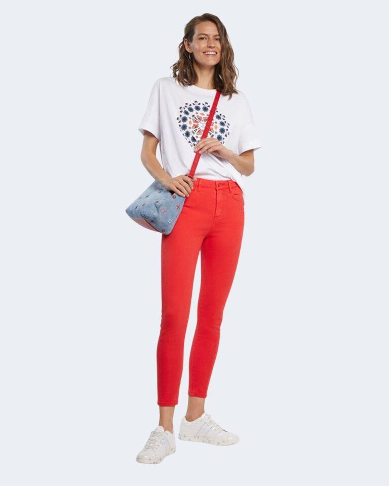 Pantaloni skinny Desigual ALBA Corallo - Foto 2