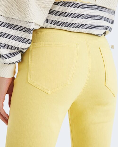 Pantaloni skinny Desigual ALBA Giallo - Foto 2