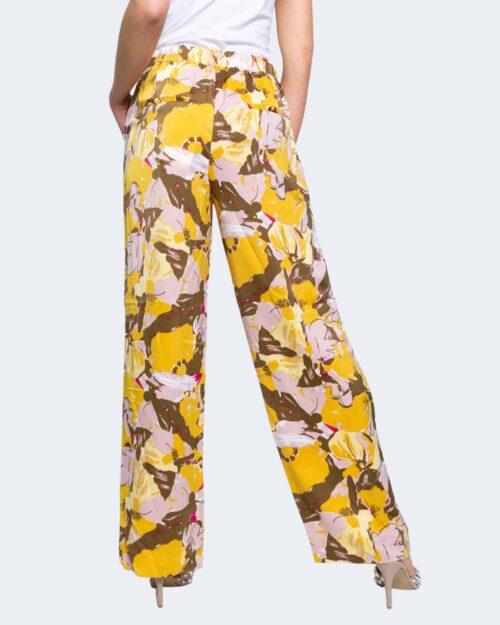 Pantaloni a palazzo Vila Clothes ASRA Giallo – 62947