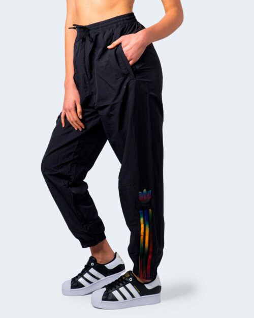 Pantaloni sportivi Adidas Track pants adicolor Nero - Foto 1