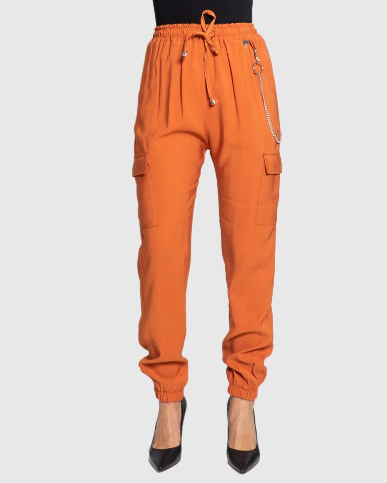 Pantaloni Akè 334 DARK Arancione - Foto 1