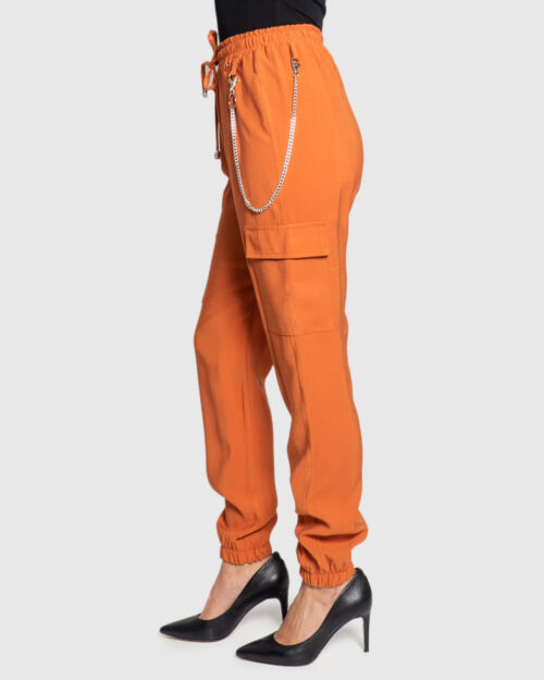 Pantaloni Akè 334 DARK Arancione - Foto 2