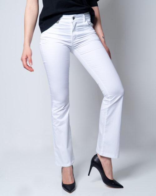Pantaloni bootcut Akè ZAMPA Bianco – 45365