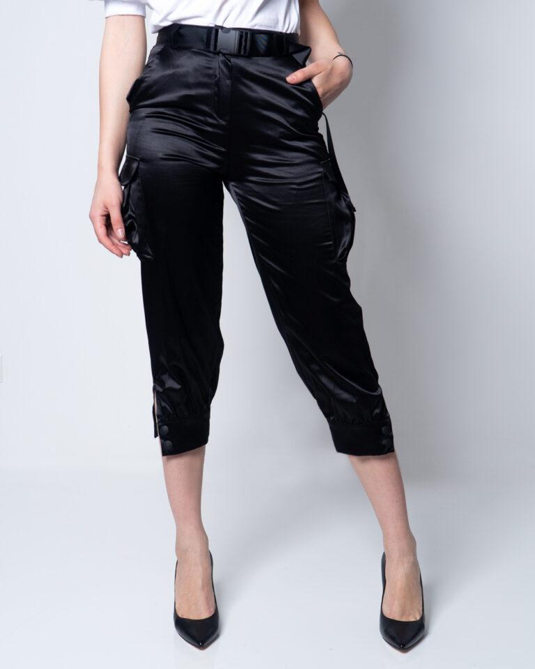 Pantaloni super skinny e skinny Akè INTEL Nero - Foto 1