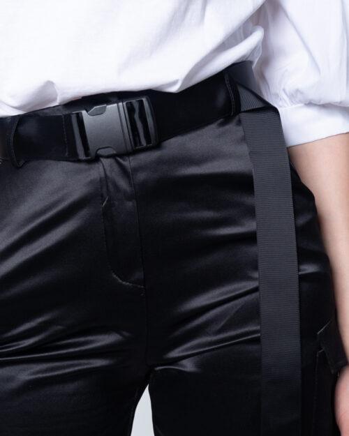 Pantaloni super skinny e skinny Akè INTEL Nero - Foto 4