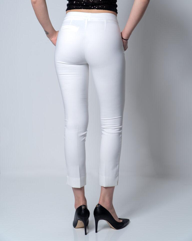 Pantaloni a sigaretta Akè MARVEL T1 Panna - Foto 2