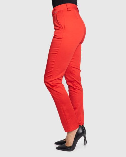 Pantaloni a sigaretta Akè 137 MONDIAL Rosso – 44135
