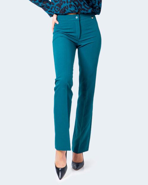 Pantaloni a sigaretta Akè WEEK Verde – 55048