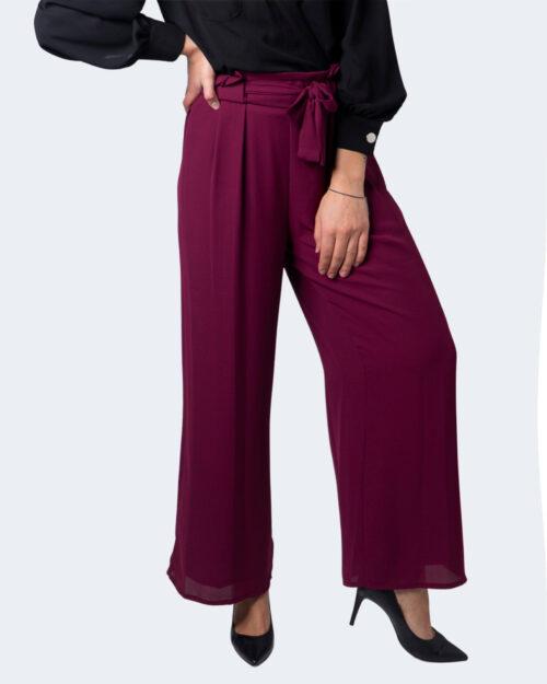 Pantaloni a palazzo Akè – Viola – 59697