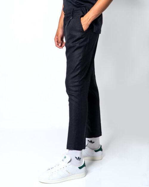 Pantaloni con cavallo basso Antony Morato CARROT CON PENCES Nero – 45394