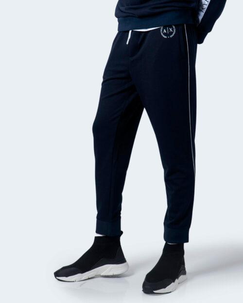 Pantaloni sportivi Armani Exchange Logo piccolo Blu – 59922
