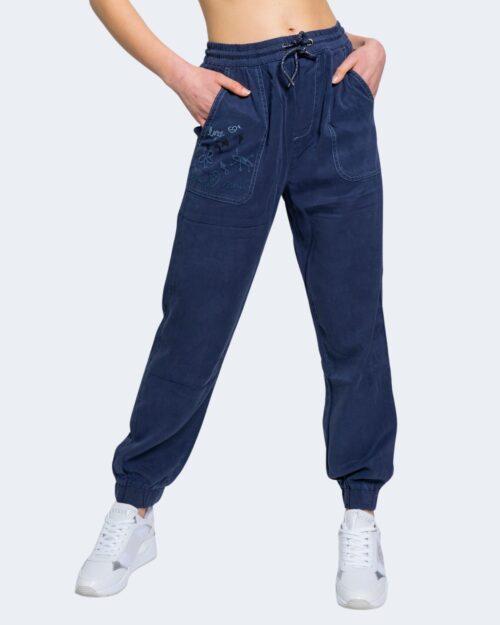 Pantaloni Desigual YAKARTA Blue scuro - Foto 1