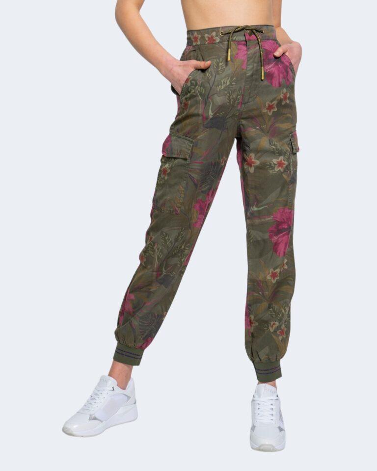 Pantaloni Desigual BALIBAY Verde Oliva - Foto 1