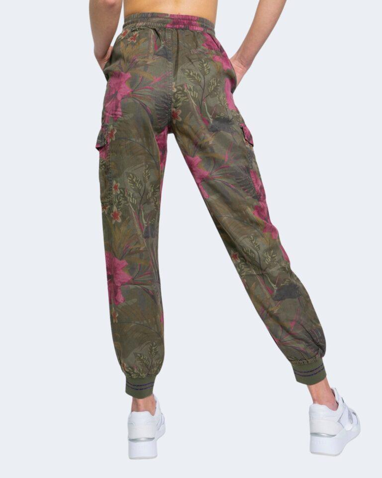 Pantaloni Desigual BALIBAY Verde Oliva - Foto 2