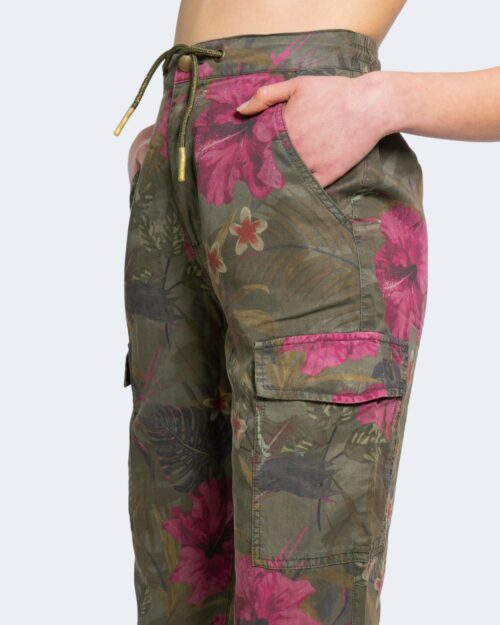 Pantaloni Desigual BALIBAY Verde Oliva - Foto 3