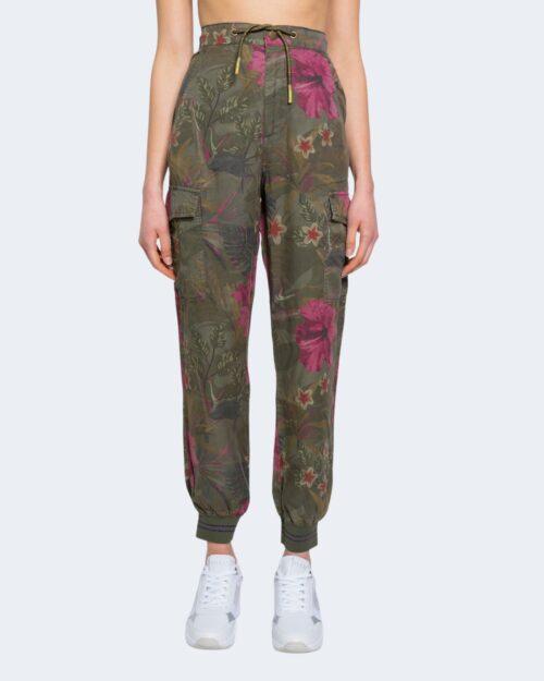 Pantaloni Desigual BALIBAY Verde Oliva - Foto 4