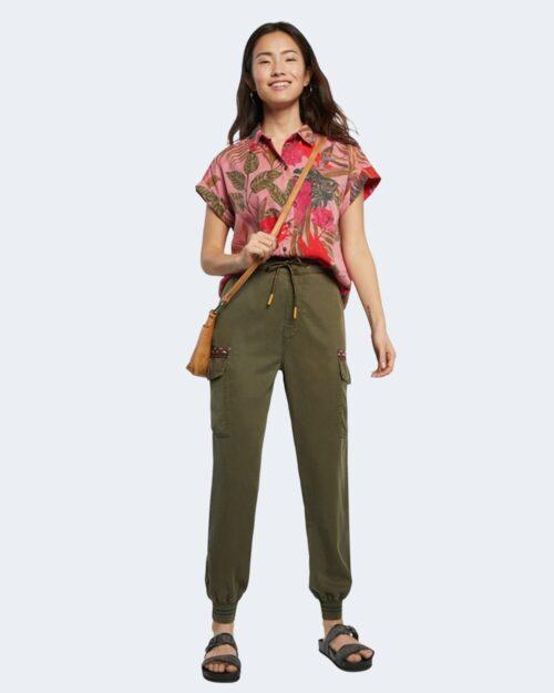 Pantaloni Desigual TRIBECA Verde Oliva – 65613