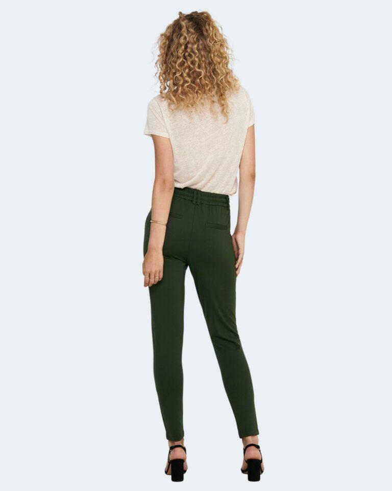 Pantaloni Only Poptrash Verde Scuro - Foto 2