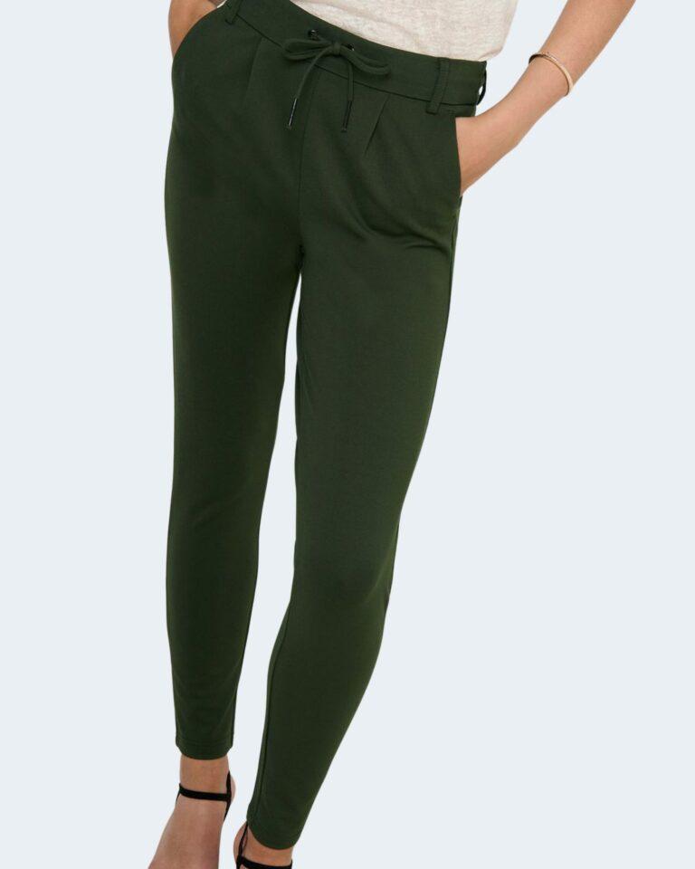 Pantaloni Only Poptrash Verde Scuro - Foto 3