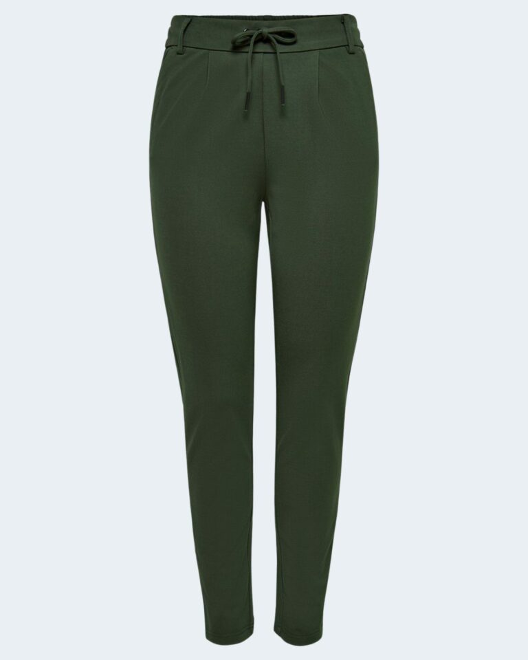 Pantaloni Only Poptrash Verde Scuro - Foto 4