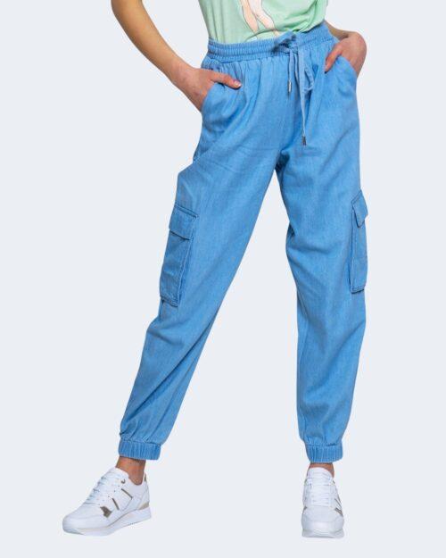 Pantaloni Vila Clothes LYSSA Blue Denim Chiaro – 62976