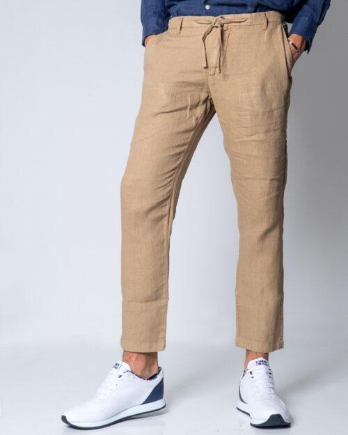 Pantaloni tapered Brian Brome PALMER Beige – 44774
