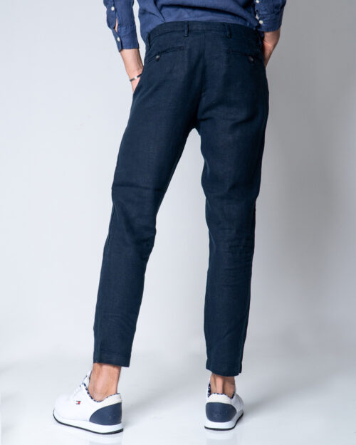 Pantaloni tapered Brian Brome PALMER Blu – 44774