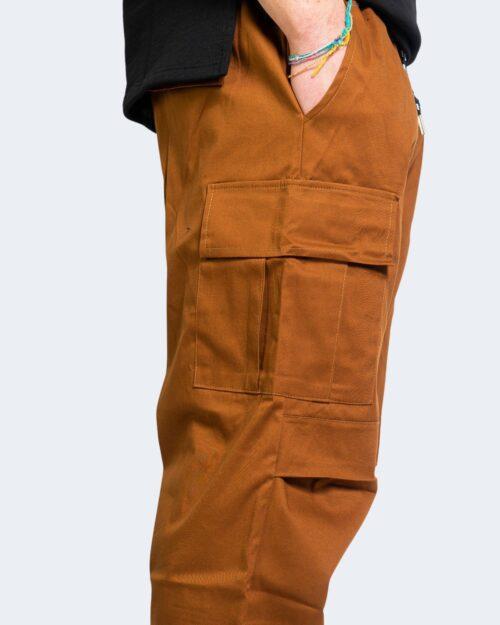 Pantaloni con cavallo basso Hydra Clothing TASCHE LATERALI Mattone - Foto 4