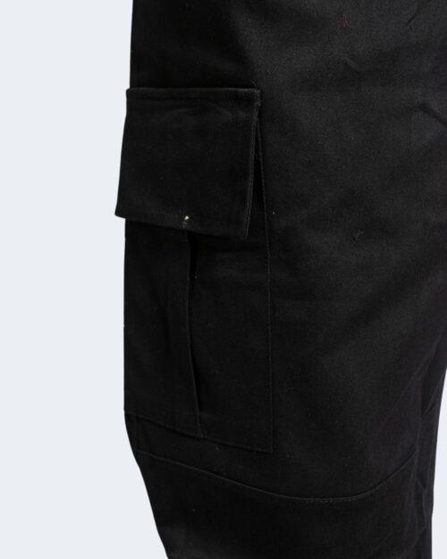 Pantaloni con cavallo basso Hydra Clothing TASCHE LATERALI Nero - Foto 4