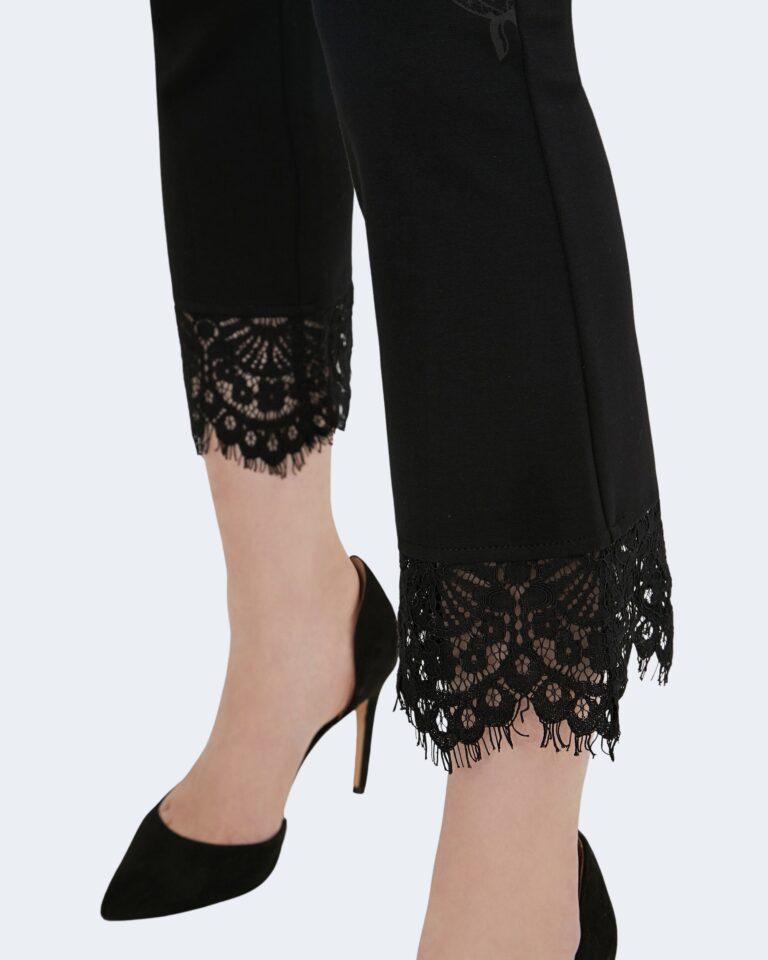 Pantaloni cropped Desigual  Nero - Foto 3
