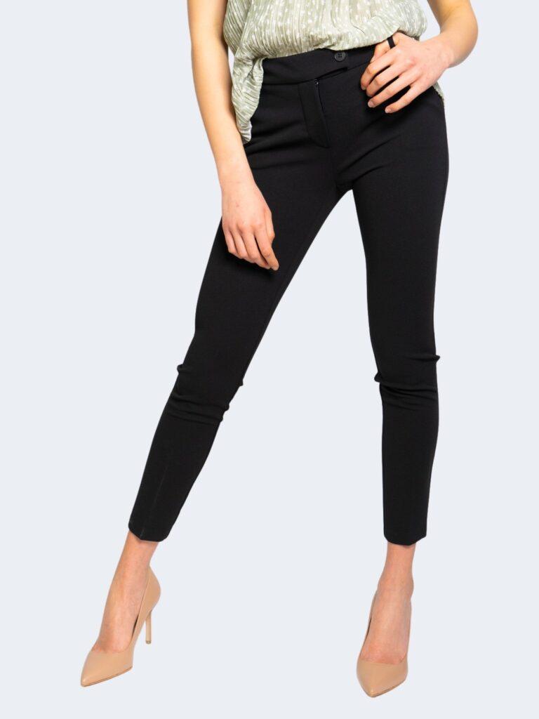 Pantaloni da completo Rinascimento CREPE STRETCH Nero - Foto 1