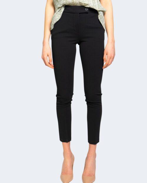 Pantaloni da completo Rinascimento CREPE STRETCH Nero - Foto 3