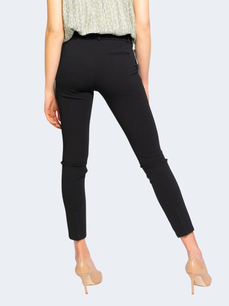 Pantaloni da completo Rinascimento CREPE STRETCH Nero - Foto 4