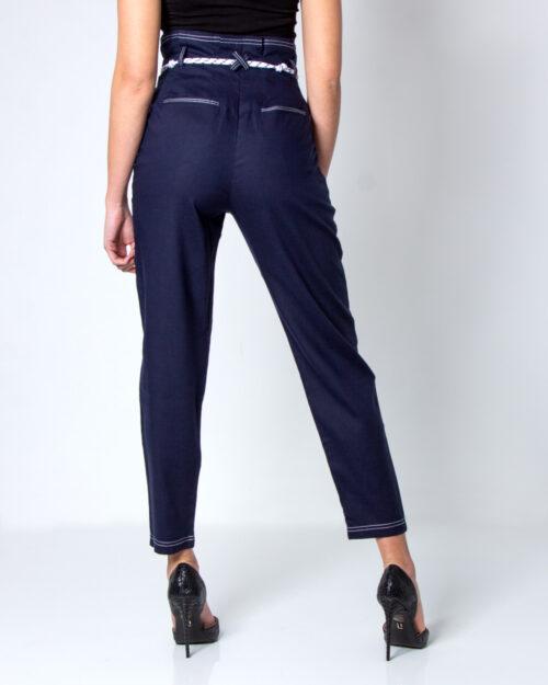 Pantaloni a sigaretta Desigual Pant Kavala Blu – 40730