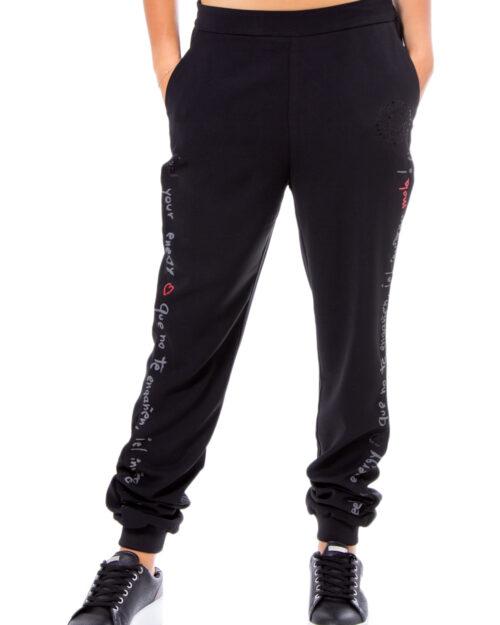 Pantaloni sportivi Desigual PANT PIA Nero – 30714