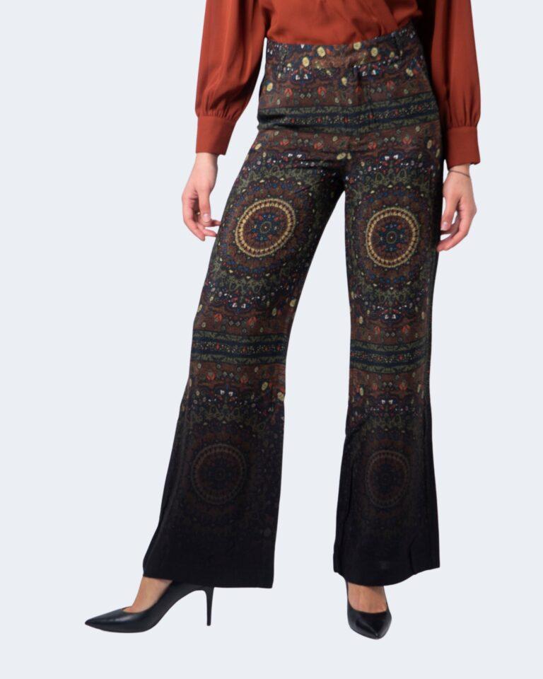 Pantaloni bootcut Desigual Pant tomoe Verde - Foto 1
