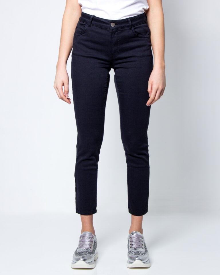 Pantaloni super skinny e skinny Emme Marella IVAN Blue scuro - Foto 1