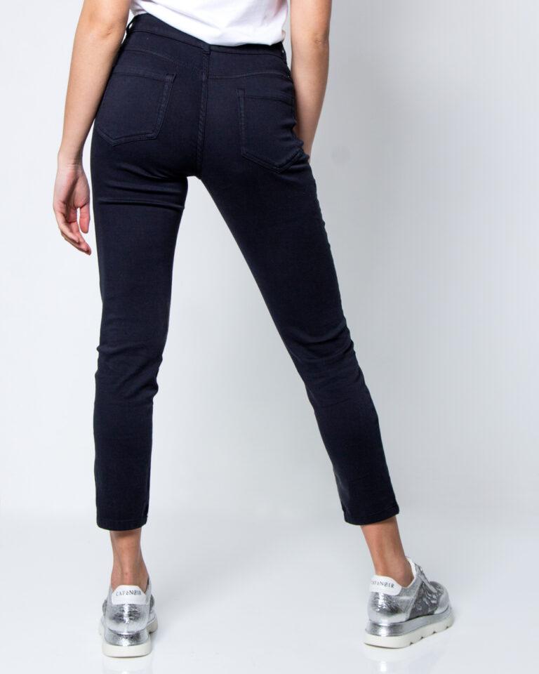 Pantaloni super skinny e skinny Emme Marella IVAN Blue scuro - Foto 3