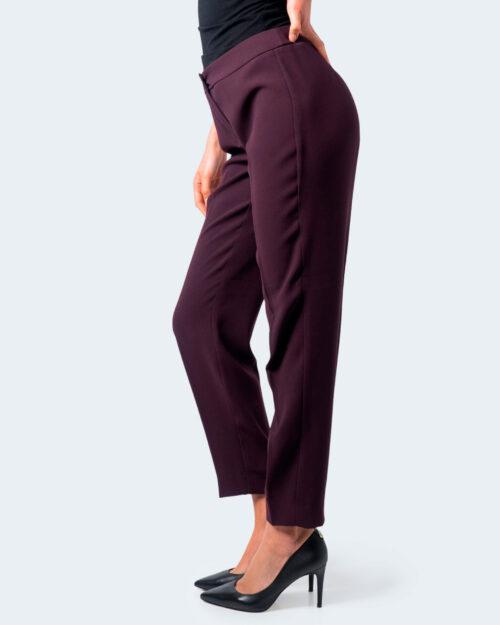 Pantaloni a sigaretta Emme Marella IMENIO Bordeaux – 59710