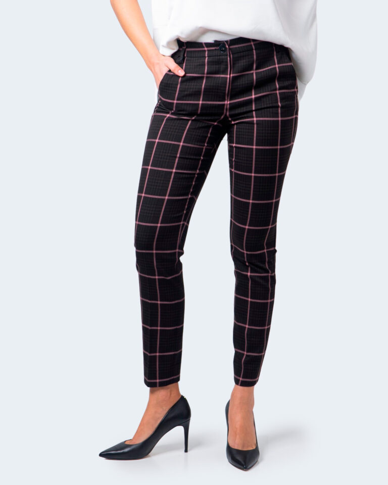 Pantaloni super skinny e skinny Emme Marella AZULENE Marrone - Foto 1
