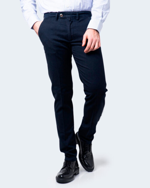 Pantaloni slim ENRICO COVERI ORIONE Blu - Foto 1