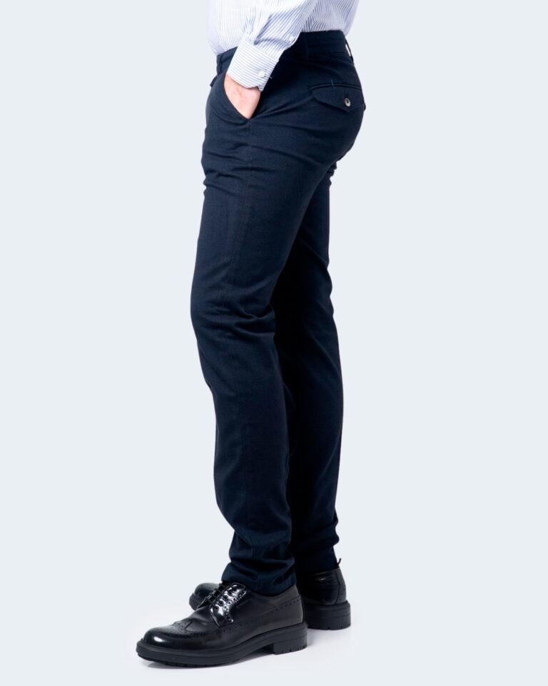 Pantaloni slim ENRICO COVERI ORIONE Blu - Foto 2