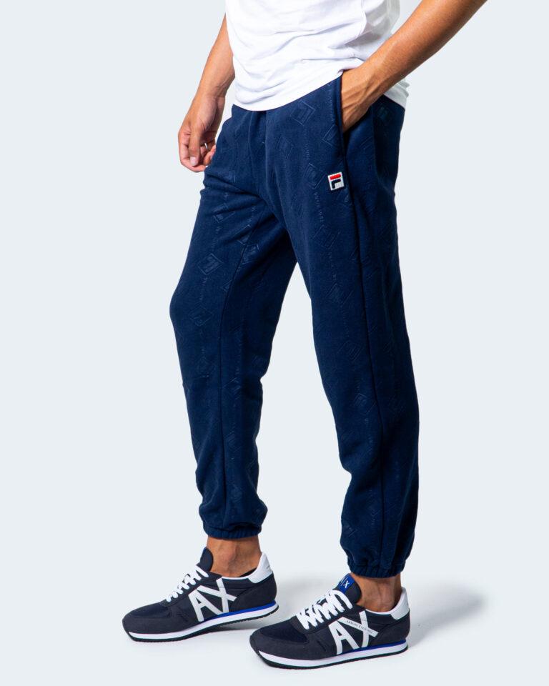 Pantaloni sportivi Fila HASTIN PANT Blue scuro - Foto 1